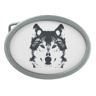 Lobo preto da ilustração