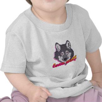Lobo solitário, estilo do anos 80! tshirts