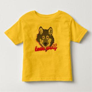 Lobo solitário, estilo do anos 80! t-shirt