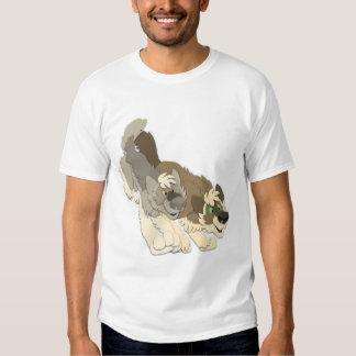 Lobos da caça camisetas