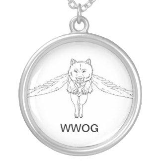 Lobos voados da colar de Ga'hoolbe