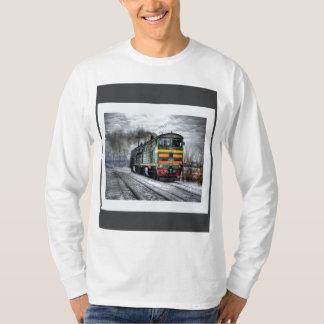 Locomotiva diesel camisetas