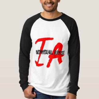 loge do ia, artista individual camiseta