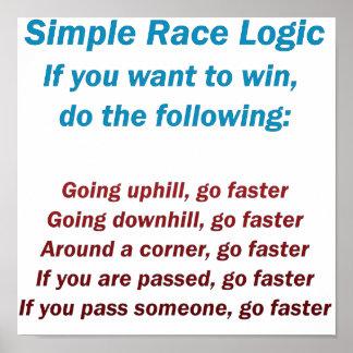 Lógica da raça poster