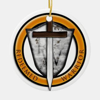 Logo_Main.png Ornamento De Cerâmica Redondo
