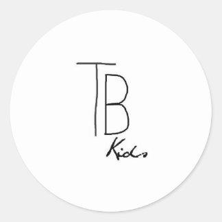 Logo TB Kids Adesivo