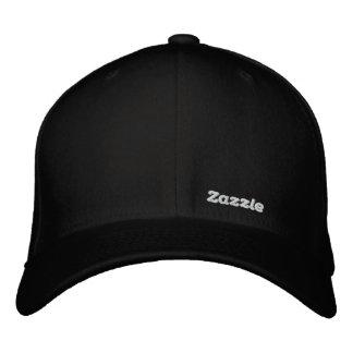 """Logotipo 1,5"""" do texto de Zazzle Boné Bordado"""