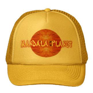 Logotipo 1a do planeta da mandala boné