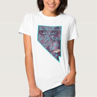 """Logotipo 2011 de """"Nevada"""" da reunião de Sin City Tshirt"""