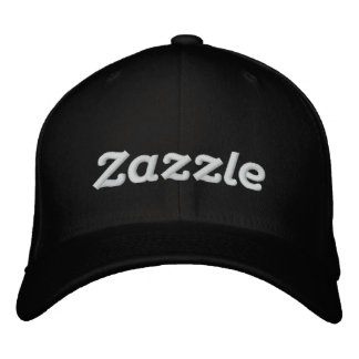 "Logotipo 4"" de Zazzle Boné Bordado"