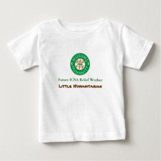 logotipo, ajudante humanitário futuro de ICNA, pou T-shirts