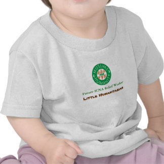logotipo, ajudante humanitário futuro de ICNA, pou Camiseta