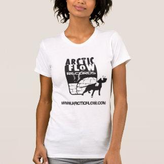 Logotipo ártico t/Girl do fluxo Tshirt