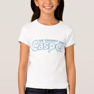 Logotipo azul do esboço de Casper Camiseta