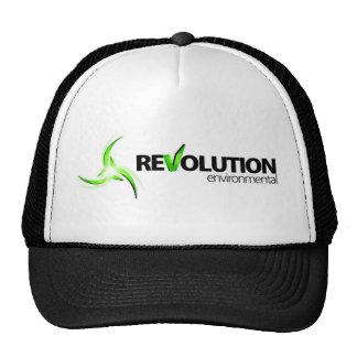 Logotipo baixo ambiental da revolução boné