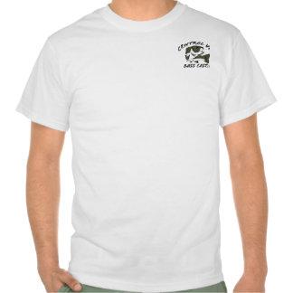 Logotipo baixo T dos peixes de CVBC Camisetas