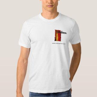 Logotipo branco T de Carmen do salão de beleza Tshirt