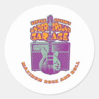 Logotipo clássico da garagem subterrânea adesivo