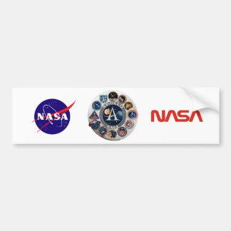 Logotipo comemorativo do Programa Apolo Adesivo Para Carro