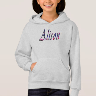Logotipo conhecido das meninas florais de Alison,