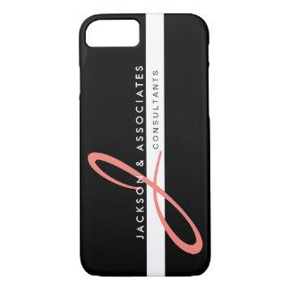 Logotipo cor-de-rosa coral do profissional do capa iPhone 7