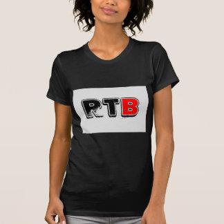 Logotipo corajoso RealTalkwithBrandon de RTB Camiseta