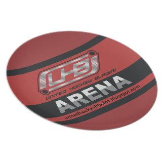 Logotipo da arena de UHB Pratos