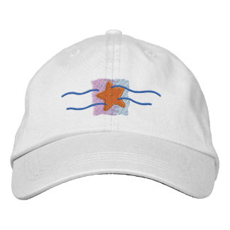 Logotipo da estrela do mar bones bordados
