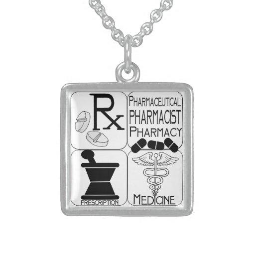 LOGOTIPO da farmácia dos farmacêuticos Colares Personalizados