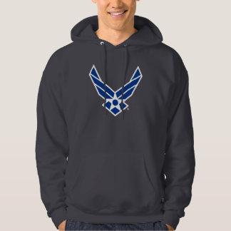Logotipo da força aérea de Estados Unidos - azul Moletom