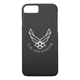 Logotipo da força aérea - preto capa iPhone 7