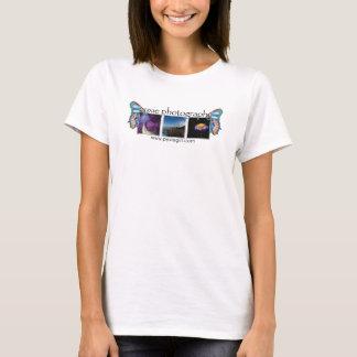 logotipo da foto da fotografia do pyxie - b camiseta