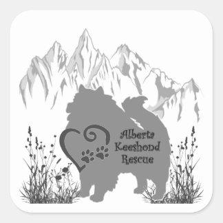 Logotipo de AKR - cinza - etiqueta