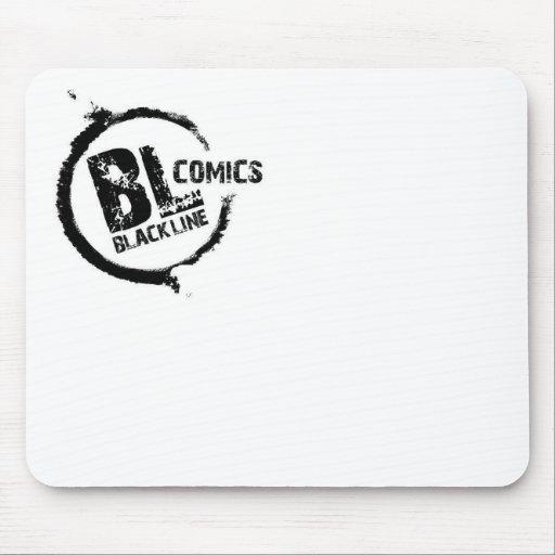 Logotipo de Blackline Mouse Pads