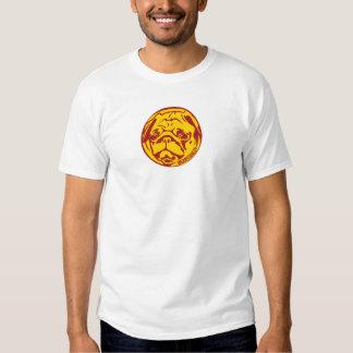 Logotipo de Borgonha Stanley Tshirt