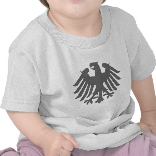 Logotipo de Bundesrat, bandeira de Alemanha Tshirts