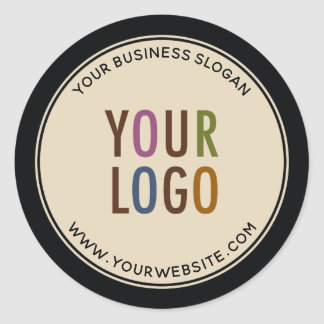 Logotipo de Costume Promocional Negócio Etiquetas
