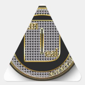 Logotipo de Dundeal Adesivo Triangular