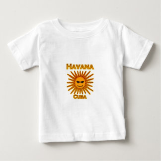 Logotipo de Havana Cuba Sun Camiseta
