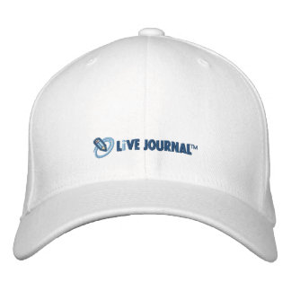 Logotipo de LiveJournal horizontal Boné Bordado