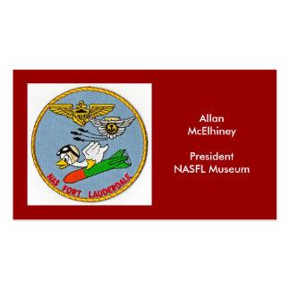 Logotipo de NASFL Cartão De Visita