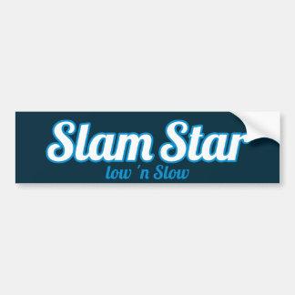 Logotipo de SlamStar Adesivo De Para-choque