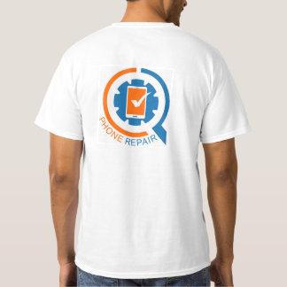 Logotipo de Telefone Reparo Empresa Tshirts