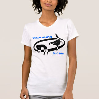 logotipo de tucson do capoeira tshirt
