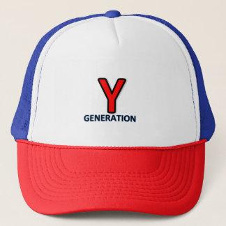 Logotipo do boné da geração de Y