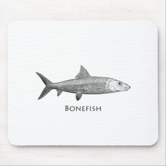 Logotipo do Bonefish Mouse Pad