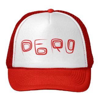 Logotipo do chapéu de Peru Boné