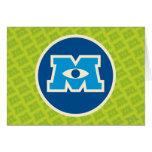Logotipo do círculo de M