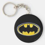 Logotipo do clássico de Batman Chaveiros