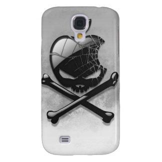 Logotipo do crânio e dos ossos de Iphone 3gs Galaxy S4 Cases